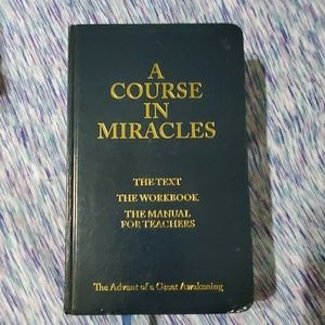 Other - A Course in Miracles hard copy